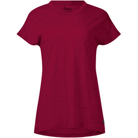 Bergans Oslo Wool - T-shirt manches courtes Femme - rouge
